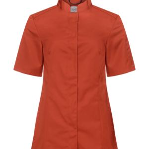 Kokinpaita 1012-201 naisten ruosteenpunainen lyhythihainen