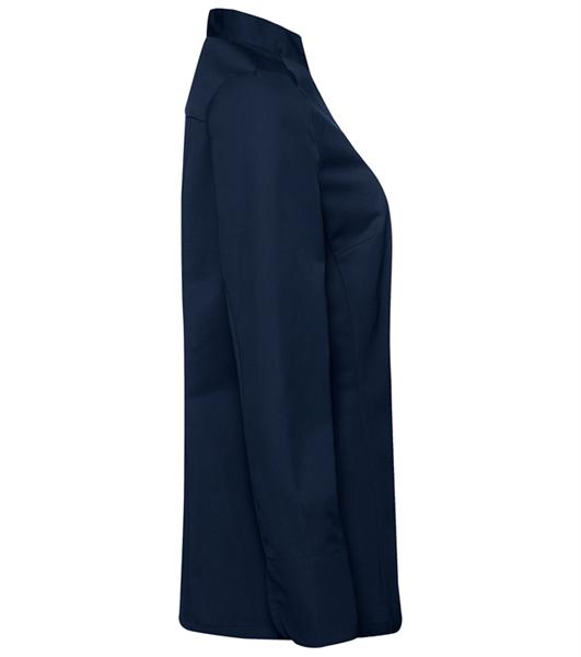 Kokinpaita 1014-201 naisten laivastonsininen pitkähihainen sivusta