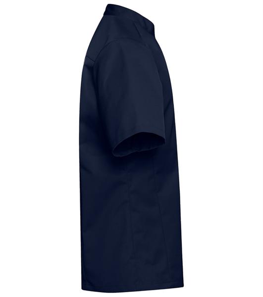 Kokinpaita 1017-201 miesten laivastonsininen lyhythihainen sivusta