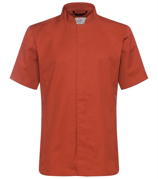 Kokinpaita 1017-201 miesten ruosteenpunainen lyhythihainen