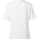 Kokinpaita 1056-201 naisten lyhythihainen valkoinen takaa