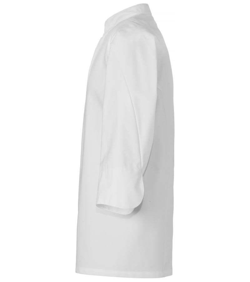 Kokinpaita 1501-201 unisex valkoinen 34hihat sivusta