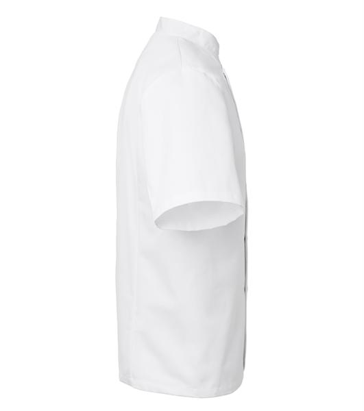 Kokintakki 1605-201 unisex valkoinen lyhythihainen sivusta