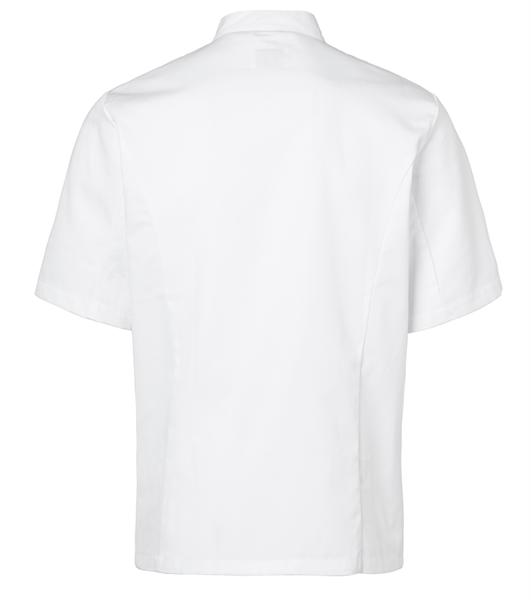 Kokintakki 1605-201 unisex valkoinen lyhythihainen takaa