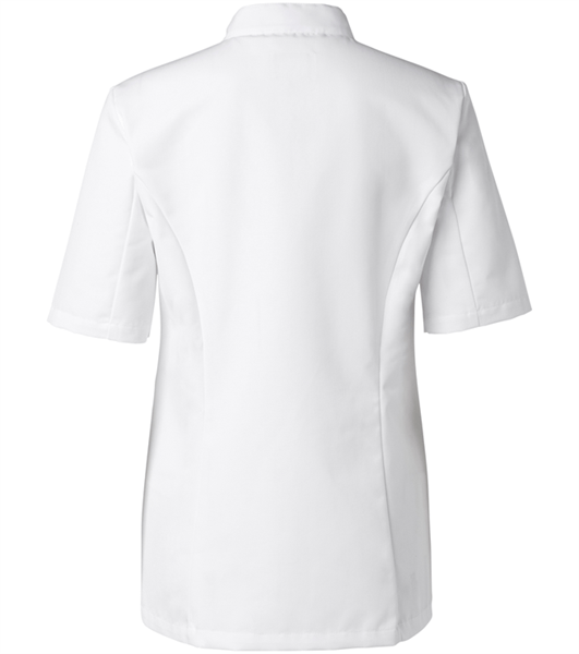 Kokintakki 1606-201 Naisten Valkoinen Lyhythihainen Takaa
