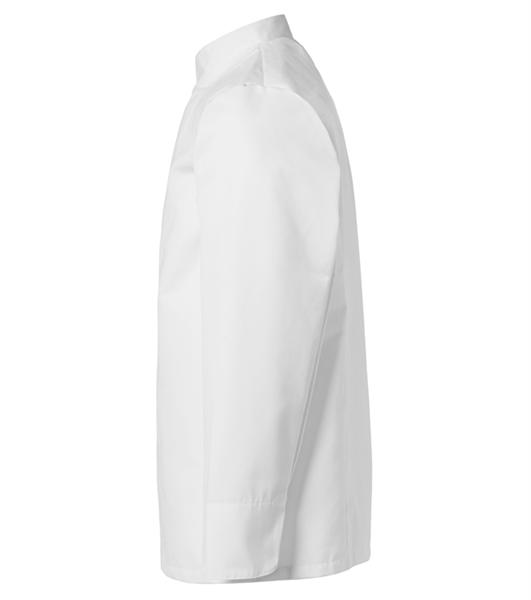 Kokintakki 1607-201 unisex valkoinen pitkähihainen sivusta