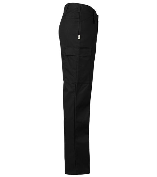 Miesten housut 8631-201 musta sivusta
