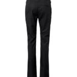 Naisten housut 8618-201 musta takaa