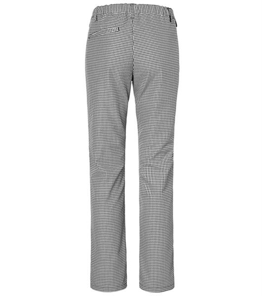 Naisten housut 8626-203 pepita takaa