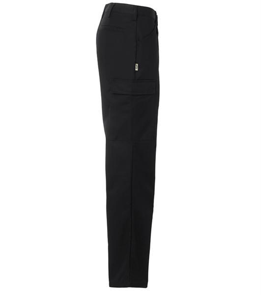 Naisten housut 8630-201 musta sivusta