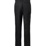 Naisten housut 8630-201 musta takaa