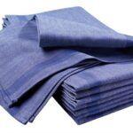 Pyyheliina 1807-699 sininen 50x80