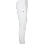 Resorihousut 8005-257 unisex valkoinen sivulta