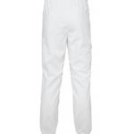 Resorihousut 8005-257 unisex valkoinen takaa