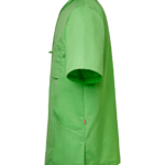 Tunika 3511-257 unisex vihreä sivulta