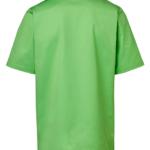 Tunika 3511-257 unisex vihreä takaa