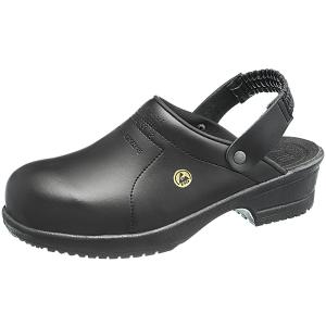 ammattijalkineet 12327 sievi fileblack kengät musta