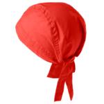 bandana 0571-299 punainen päähine takaa