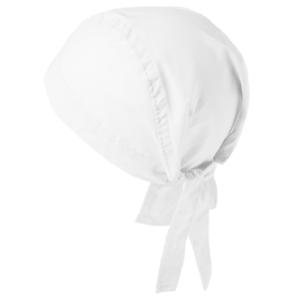 bandana 0571-299 valkoinen päähine takaa