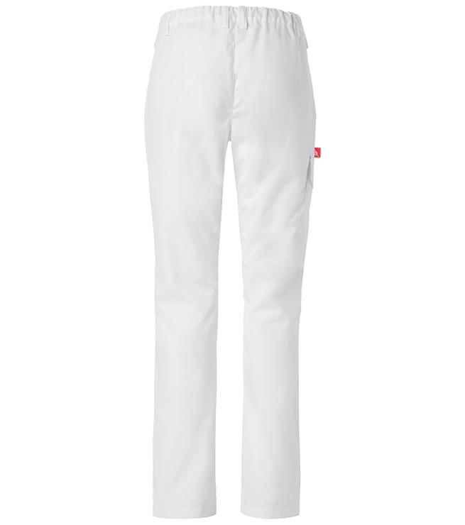 housut 8004-257 naisten valkoinen hoito takaa