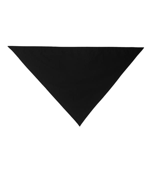 huivi 0561-257 musta päähine taitettu