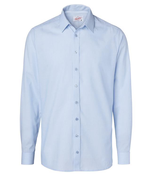 paita 1215-306 miesten pitkähihainen kauluspaita vaaleansininen