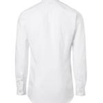 paita 1215-306 miesten pitkähihainen kauluspaita valkoinen takaa