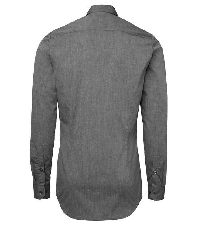 paita 1219-306 kaulauspaita pitkähihainen miesten grafiitti takaa
