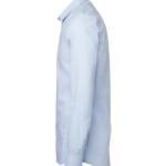 paita 1219-306 kaulauspaita pitkähihainen miesten vaaleansininen sivusta