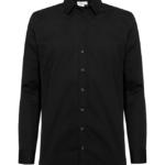 paita 1219-323 miesten kauluspaita musta