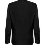paita 1219-323 miesten kauluspaita musta takaa