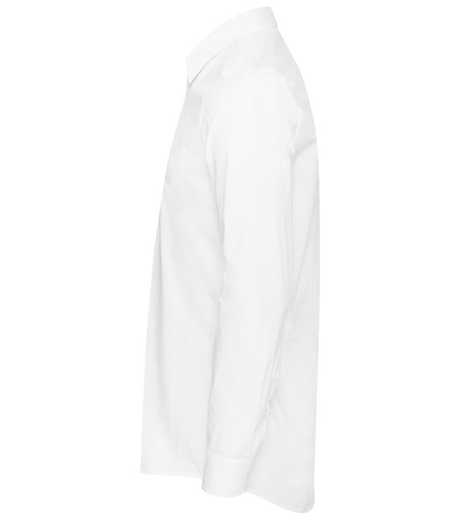 paita 1219-323 miesten kauluspaita valkoinen sivusta