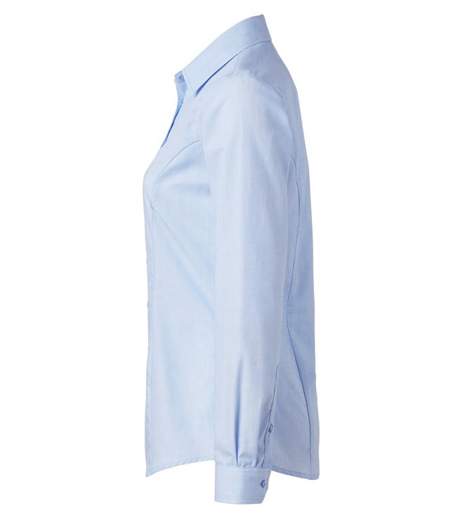 paita 1226-306 naisten kauluspaita vaaleansininen sivusta