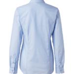 paita 1226-306 naisten kauluspaita vaaleansininen takaa