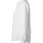 paita 1226-306 naisten kauluspaita valkoinen sivusta