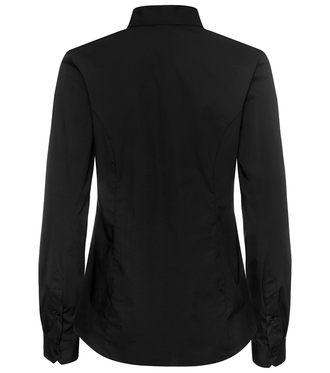 paita 1226-323 naisten stretch musta takaa