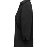 paita 1228-323 stretch naisten musta sivusta