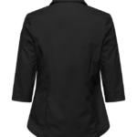 paita 1228-323 stretch naisten musta takaa