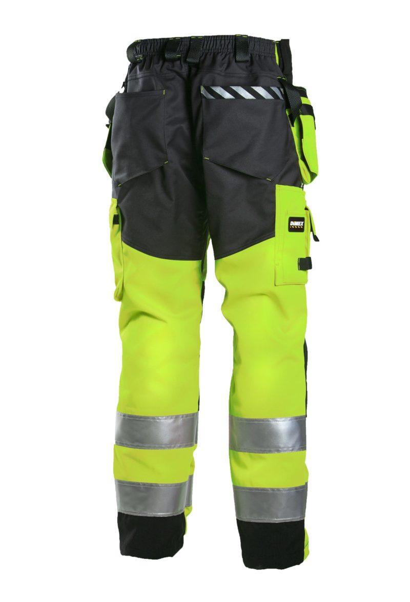 rt housut 6015y turva keltainen huomio takaa