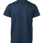 t-paita 1106-199 unisex laivastonsininen takaa