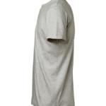 t-paita 1106-199 unisex meleerattuvaaleanharmaa sivusta