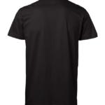 t-paita 1106-199 unisex musta takaa