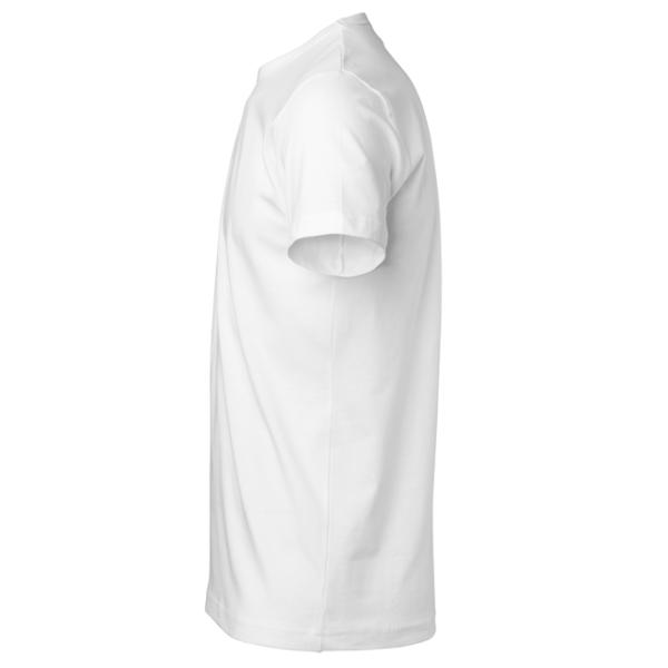 t-paita 1106-199 unisex valkoinen sivusta