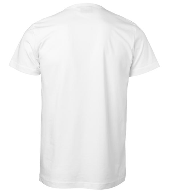 t-paita 1106-199 unisex valkoinen takaa
