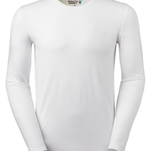 t-paita 6111-199 miesten valkoinen pitkähihainen