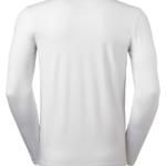 t-paita 6111-199 miesten valkoinen pitkähihainen takaa