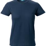t-paita 6116-199 naisten laivastonsininen