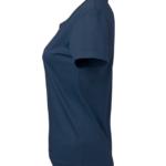 t-paita 6116-199 naisten laivastonsininen sivusta