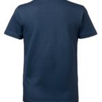 t-paita 6116-199 naisten laivastonsininen takaa