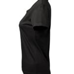 t-paita 6116-199 naisten musta sivusta